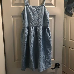 Jcrew factory chambray dress